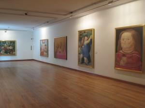 ボテロ美術館 展示室内